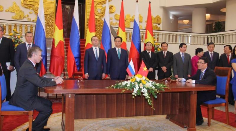 О визите официальной делегации РФ во Вьетнам